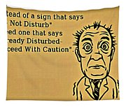 Do Not Disturb Tapestry