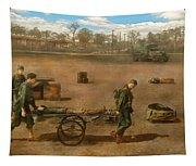 Doctor - Demonstrating A Wheel Litter  Tapestry