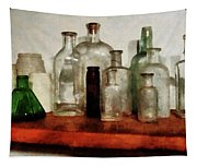 Doctor - Medicine Bottles Tall And Short Tapestry