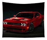 Dodge Challenger S R T Hellcat Tapestry