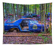 Dodge Polara Police Vehicle Tapestry