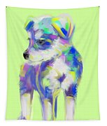 Dog Cute Puppy Tapestry