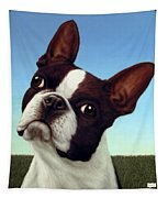 Dog-nature 4 Tapestry by James W Johnson