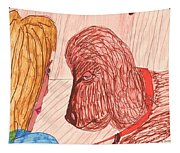 Dog Training Class Tapestry