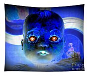 Doll Face Tapestry