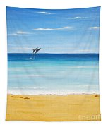 Dolphin Beach Tapestry