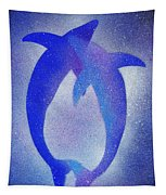 Dolphins 3 Tapestry