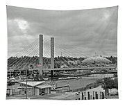 Dome And Bridge Tapestry