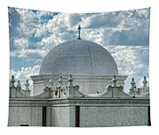 Dome Of San Xavier - Tucson Az Tapestry