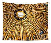Dome Of St Peter's Basilica Vatican City Italy Tapestry