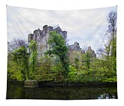Donegal Castle In Donegaltown Ireland Tapestry