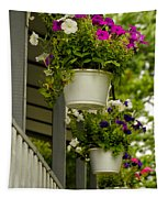Donna's Petunias Tapestry