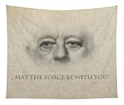 Dont Be Afraid Of The Dark Side Tapestry