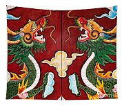 Door Dragons 03 Tapestry