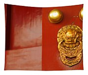 Door Handle Tapestry