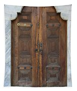 Door Of The Topkapi Palace - Istanbul Tapestry
