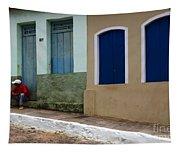 Doors And Windows Lencois Brazil 3 Tapestry