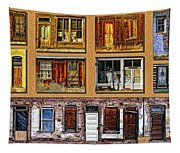 Doors And Windows Tapestry