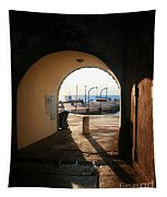 Doorway To The Sea Tapestry