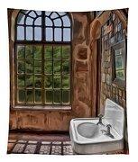 Dormer And Bathroom Tapestry