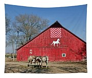 Double Bar N - 3 Tapestry