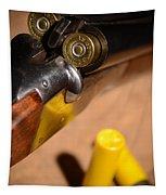 Double Barrel Shotgun Tapestry