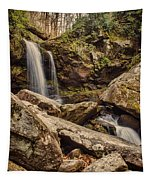 Double Cascade Tapestry