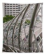 Double Helix Bridge 01 Tapestry