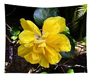 Double Hibiscus Costa Rica Tapestry