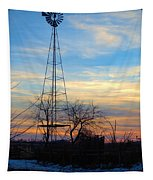 Dougherty Windmill Tapestry