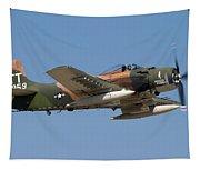 Douglas Ad-4 Skyraider Tapestry