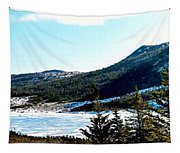 Down In The Valley Triptych Tapestry