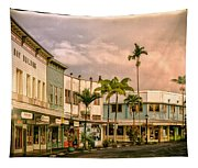 Downtown Hilo Sunday Morning Tapestry