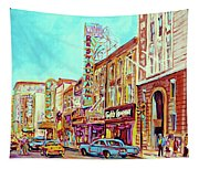 Downtown Montreal Tapestry