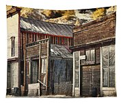 Downtown Silver Plume Tapestry