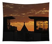 Downtown Sunrise Tapestry