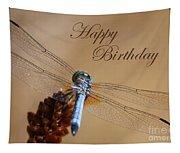 Dragonfly Birthday Card Tapestry