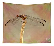Dragonfly In Fantasy Land Tapestry