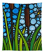 Dragonfly Pond By Sharon Cummings Tapestry