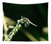 Dragonfly Resting In The Wind  Tapestry