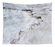 Dramatic Abstract At White Sands Tapestry