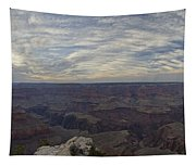 Dramatic Grand Canyon Sunset Tapestry