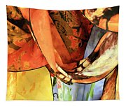 Draped Scarves Tapestry