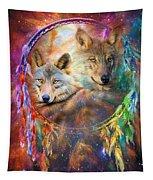 Dream Catcher - Wolf Spirits Tapestry