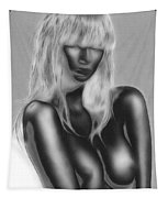 Dream In Black And White Tapestry