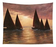Dream Sails Tapestry