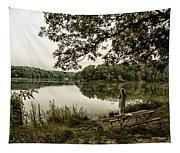 Dreaming Of Fishing At Argyle Lake Tapestry