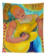 Dreaming Of San Miguel By Karen E. Francis Tapestry