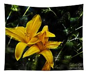 Dreams Of A Day Lily Tapestry