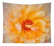 Dreamy Orange Rose Tapestry